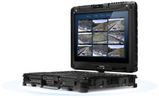 RUGGED Getac V200 2-in-1 Laptop - i7-L620 2.0Ghz CPU✔8GB RAM✔128GB SSD✔GOBI GPS
