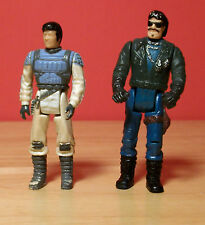 Vintage 1985 Mask M A S K Action Figures Bruce Sato & Sly Rax Kenner