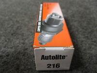 4 Autolite 216 Spark Plugs New