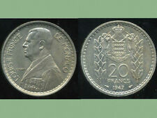MONACO 20  francs 1947