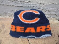 Chicago Bears Fleece Hat Sizes Newborn Baby, Boys & Girls,  Adult Men & Women