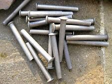 10 x Rivets for shovel spade fork handle repair 50x6mm rake hoe garden lawnmower