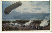 Dt. Luftflotten-Verein Militär Fesselballon Artillerie Beschuss 1. Weltkireg