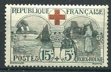 "FRANCE N° 156  "" CROIX ROUGE  L'INFIRMIERE  15c + 5c ""  NEUF xx TTB"
