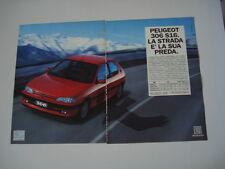 advertising Pubblicità 1994 PEUGEOT 306 S16