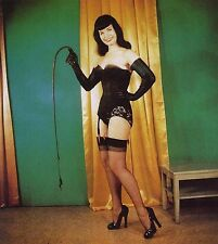 BETTE PAGE VINTAGE RETRO GLAMOUR PICS ON DVD STOCKINGS GIRDLES VINTAGE BURLESQUE