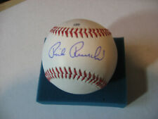 RICK REUSCHEL autographed new MIDWEST LEAGUE Baseball CHICAGO CUBS SF Giants