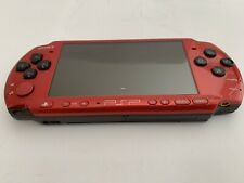 Sony PSP 3000 Red / Black  with AC Adapter  ***SHIP FROM U.S.A.***
