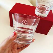 Baccarat x Mercedes Benz tumbler pair glass  Not for Sale Rare
