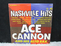 Nashville Hits Ace Cannon and His Alto Sax The Memphis Sound Hi Recs Vinyl Album