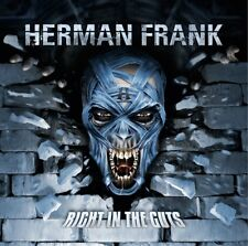 HERMAN FRANK - RIGHT IN THE GUTS   CD NEW!