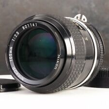 :Nikon Nikkor 105mm f2.5 Ai Manual Focus Portrait Prime Lens