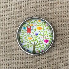 Noosa style chunk snap charm- CurlyLime tree