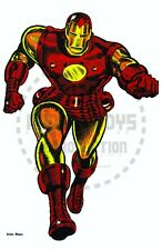 Vintage Reprint - Iron Man - Marvel Personality Poster - Original Size