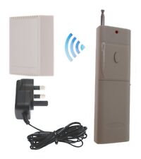 Wireless Long Range (1000 metre) Relay Kit with 2 x Output Relays