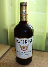 Imperial Hiram Walker Blended Whiskey 70er Jahre Vintage ungeöffnet alter Whisky
