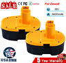 2Pack 18V DC9096-2 Ni-Mh For DeWALT DC9096 18-VoltXRP Battery DW9098 DC9099 Tool