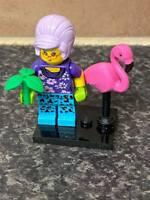 LEGO SERIES FLAMINGO WOMAN MINI FIGURE VGC