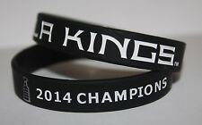 Los Angeles LA KINGS STANLEY CUP 2014 Champions Bracelet Wristband Banner Ring