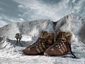 Adidas X Star Wars Chewbacca Brown Jogging Hi Tops Men's 9.5 Shoes 2010