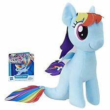 "My Little Pony The Movie Plus Sea Pony Rainbow Dash plush +/- 12"" -  30cm"