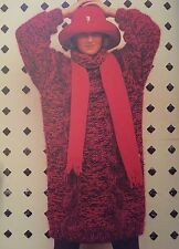 """FCl10 - Knitting Pattern - Mohair, DK & Chunky Cable JUMPER - 32-38"""""""
