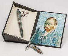 VISCONTI Van Gogh Portrait Blue Fountain Pen