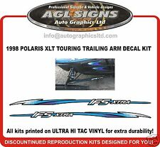 1998 POLARIS  XLT TOURING  IFS  TRAILING ARM DECALS , graphics reproduction ifs