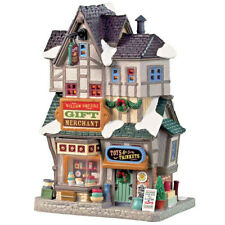 Lemax Christmas Village Willow Square Gift Merchant #95523 Lighted Building Xmas