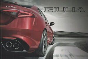 Alfa Romeo Giulia UK Market Brochure Jan 2017 Quadrifoglio Super Speciale