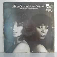 "Barbra Streisand / Donna Summer – No More Tears (Vinyl 12"", Maxi 45 Tours)"