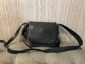Authentic Coach Legacy Dakotah Black Leather Crossbody 34397