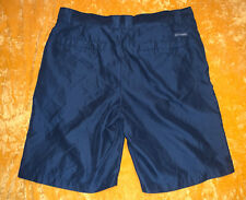 Men's Columbia Sportswear Company Navy Blue Shorts Size 34 NEW