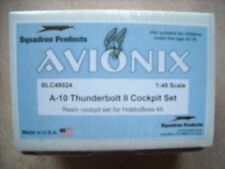 AVIONIX /BLACK BOX-1/48- #BLC48024-A-10 THUNDERBOLT II COCKPIT SET FOR HOBBYBOSS