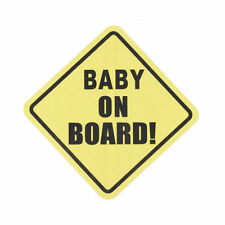 Funny Baby on Board In Car Safety Sign Vinyl Sticker for Car Window Bumper Decal