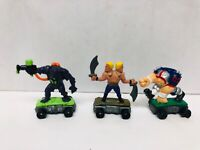 Savage Mondo Blitzers Toys 1991 Kenner Action Figures Lot of 3 1990s Toys DAMAGE