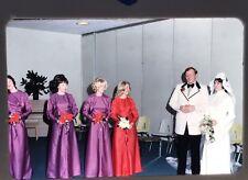 Vintage 70's 35mm Slides 1972 Wedding Fashion Bride Groom Shower Lot