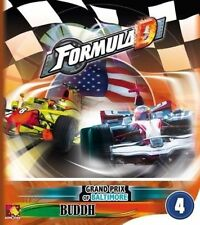Formula D Board Game: Circuit 4 - Grand Prix of Baltimore & Buddh (New)