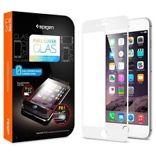 "Spigen Oleophobic Coated Tempered Glass ""Full Coverage"" White for iPhone 6 (4.7)"