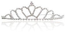 Wedding Prom Bridal Crystal Cosplay Veil Tiara Crown Princess Hallowmas