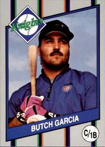1990 Charlotte Knights Team Issue #10 Butch Garcia Catcher Baseball Card