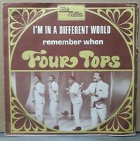 Rare SP - Four Tops – I'm In A Different World - or.fr 1968 Tamla Motown FT 149