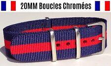 NATO ★ 20MM ★ N°22 ★ Bracelet montre Watch Band Strap Nylon Military Army 007