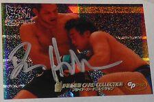 Dan Henderson Signed 2006 Pride FC Grand Prix Holo Foil Card #110 UFC Autograph