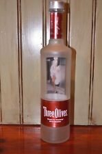 MARILYN MONROE Three Olives Vodka Strawberry Collectible Liquor Bottle EMPTY