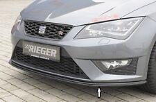 Rieger FRONT SPOILER spada per SEAT LEON 5f FR/CUPRA fino a Facelift