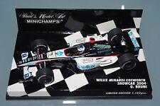 Minichamps F1 1/43 WILUX MINARDI COSWORTH SHOWCAR 2004 - G. BRUNI