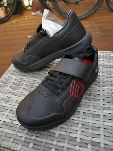 MTB Adidas Five Ten 5.10 Hellcat Pro Black Cycling SPD Clipless Shoes Size UK 9