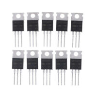 10PCS IRF540N IRF540 TO-220 N-Channel 33A 100V Power Mosfet B IJ