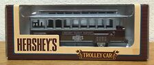Ertl Hershey's 100th Anniversary Trolley Car 1:43 Scale Locking Coin Bank - NEW